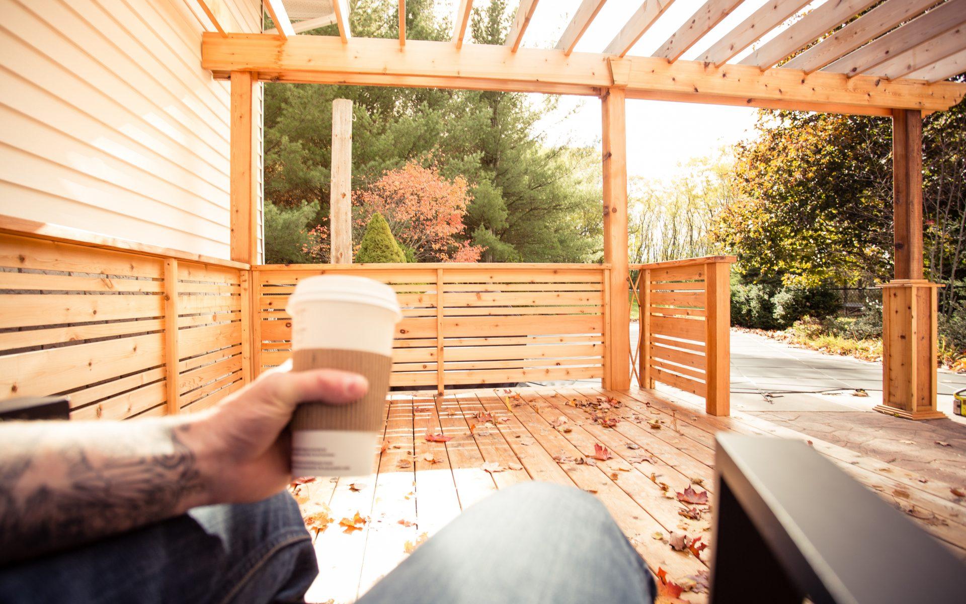 Western Red Cedar Pergola